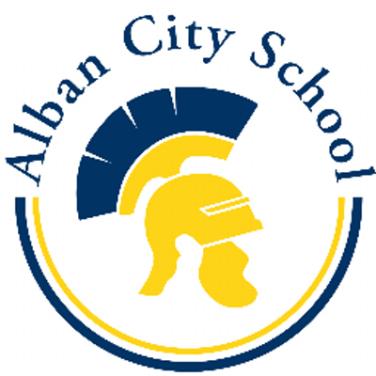 Alban City School Logo