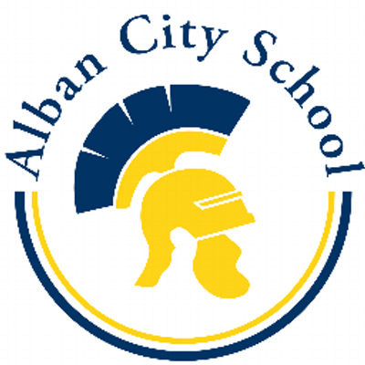 Alban City School Logo