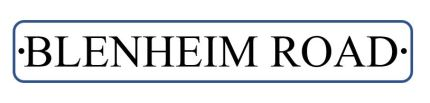 Blenheim Road Logo