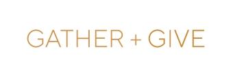 gather + give logo