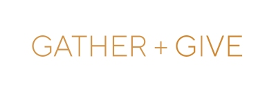 gather + give logo