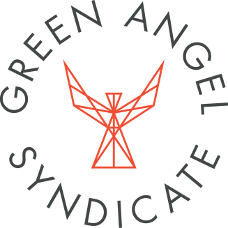 Green angel Syndicate logo dark