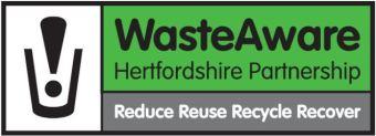hertfordshire waste aware partnership logo