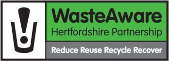 hertfordshire waste aware partnership logo