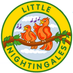 little nightingales nursery logo