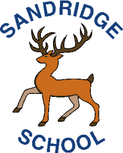 sandridge school logo