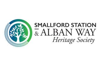 Smallford Station and Alban Way Heritage Society logo