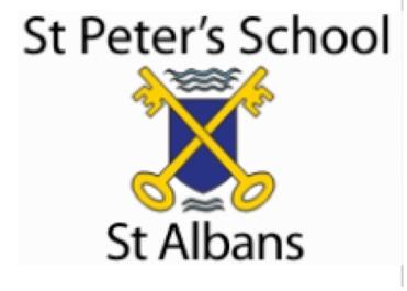 st peters school logo