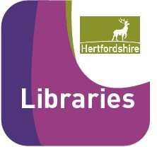 herts library libraries logo